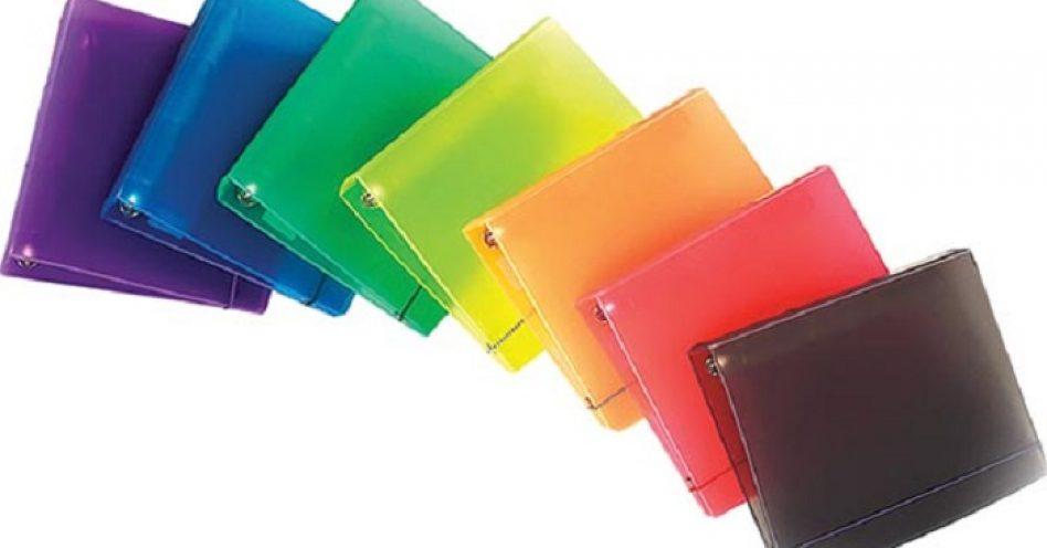 Novos modelos de fichários são boa aposta para vendas nas papelarias