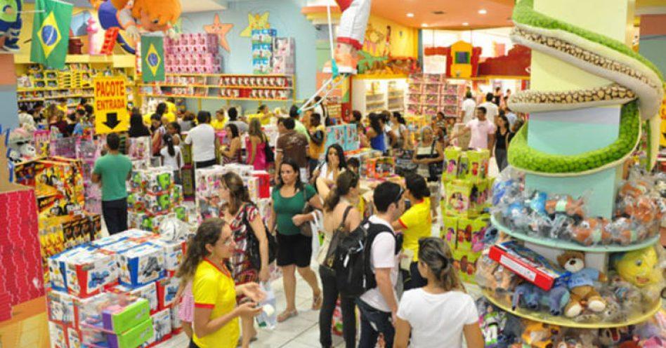 Cresce em cinco pontos percentuais a intenção de compra para Dia das Crianças