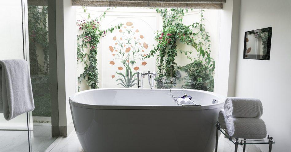 Salas de banho viram principal local de relaxamento