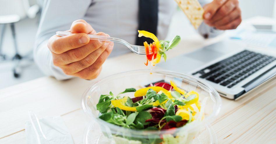 Alimentação saudável no trabalho