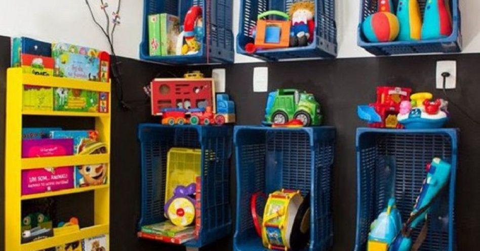 5 dicas para organizar os brinquedos das crianças