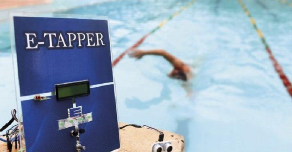 Sensor auxilia nadadores cegos na travessia da piscina