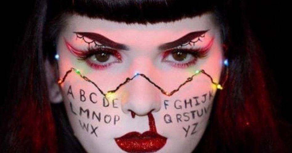 """Stranger Things"" lidera buscas para make de Halloween"