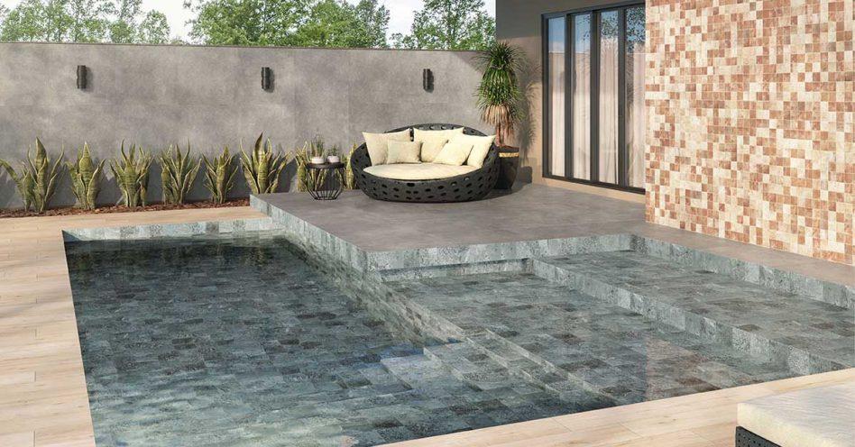 Empresa lança revestimento cerâmico para piscinas