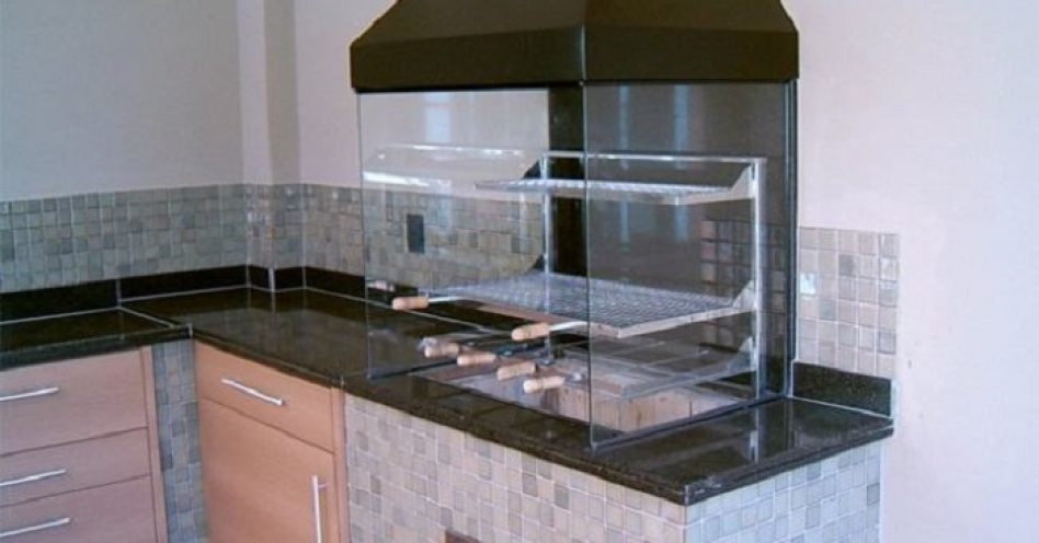 Vantagens da churrasqueira de vidro